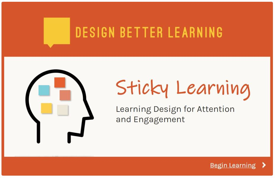 Sticky Learning Course Screen Capture
