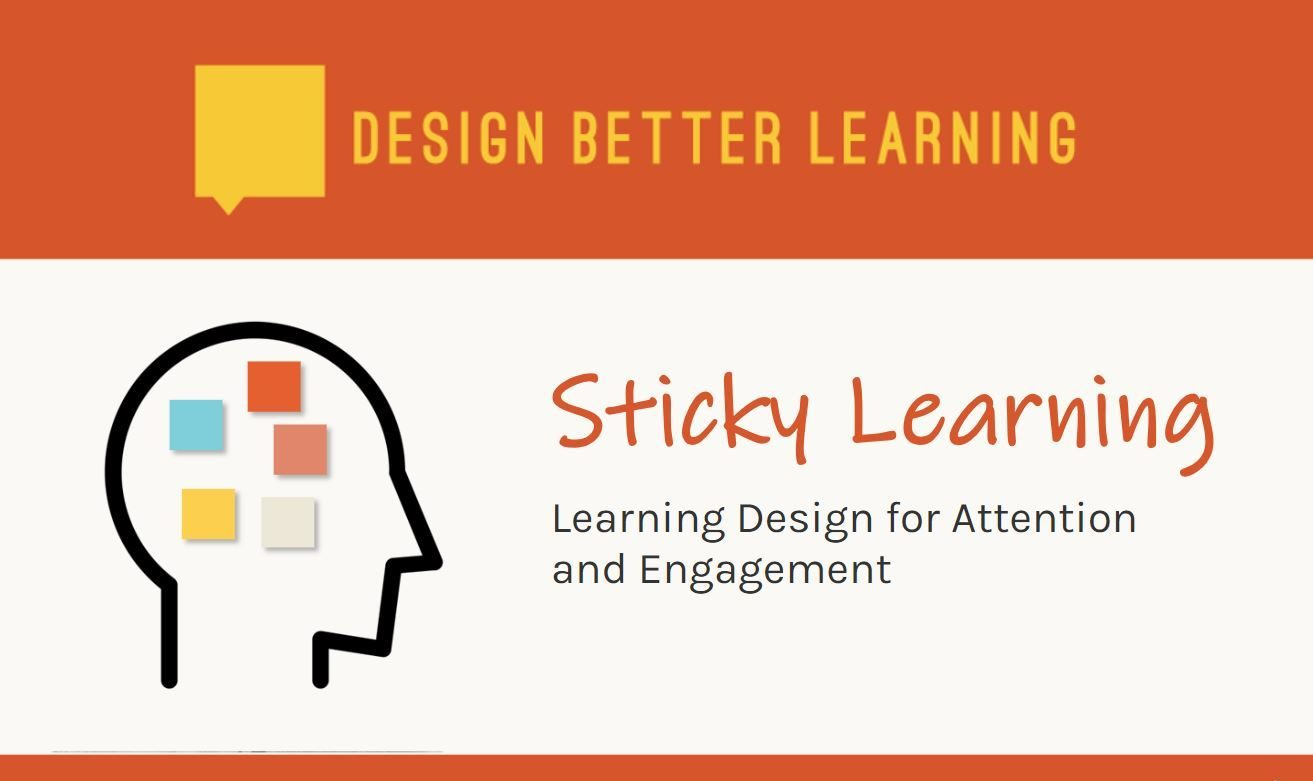 Image of the Sticky Learning Course Home Screen